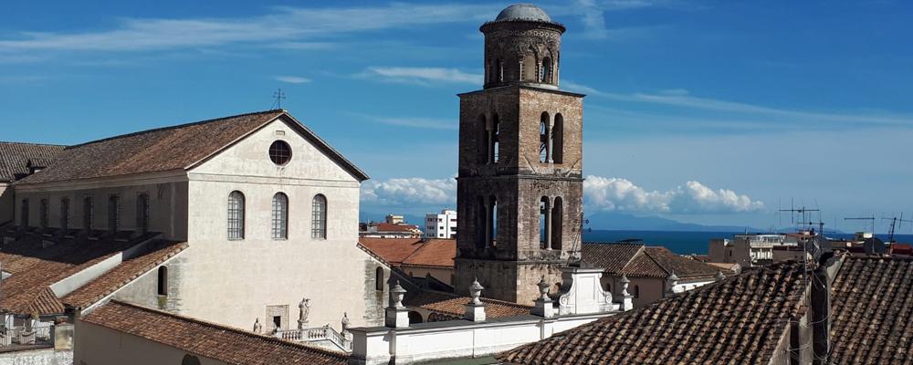 Nel centro storico di Salerno